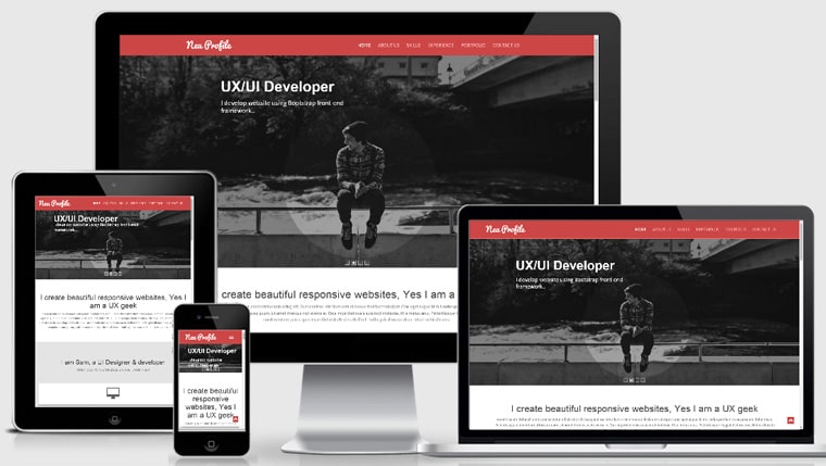 We design custom and fully responsive templates